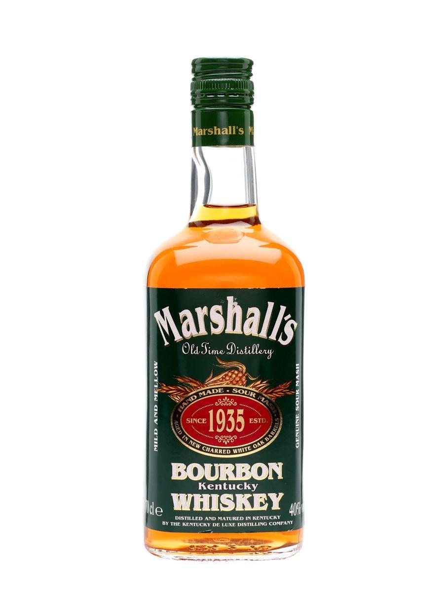 MARSHALL'S BOURBON 0,7L