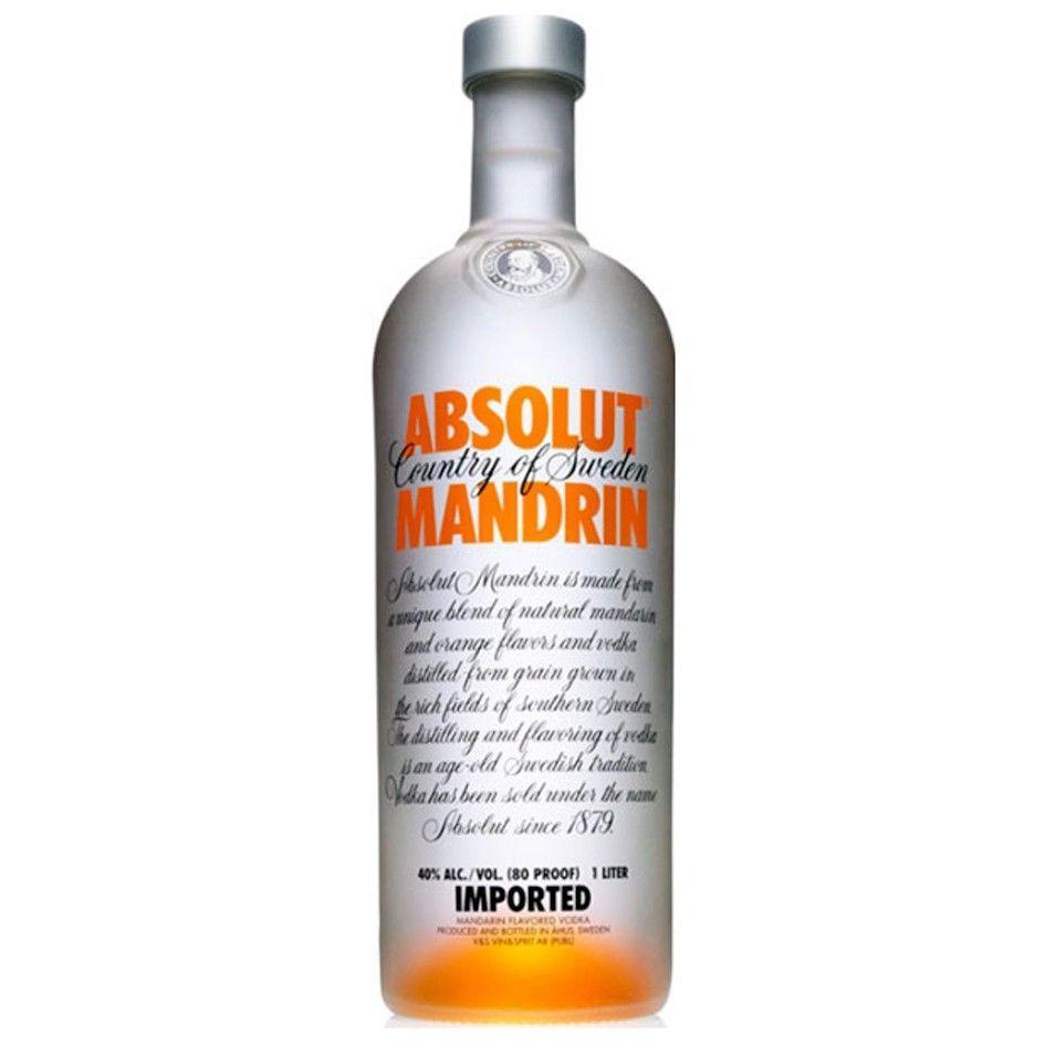 ABSOLUT MANDARIN 1,0L